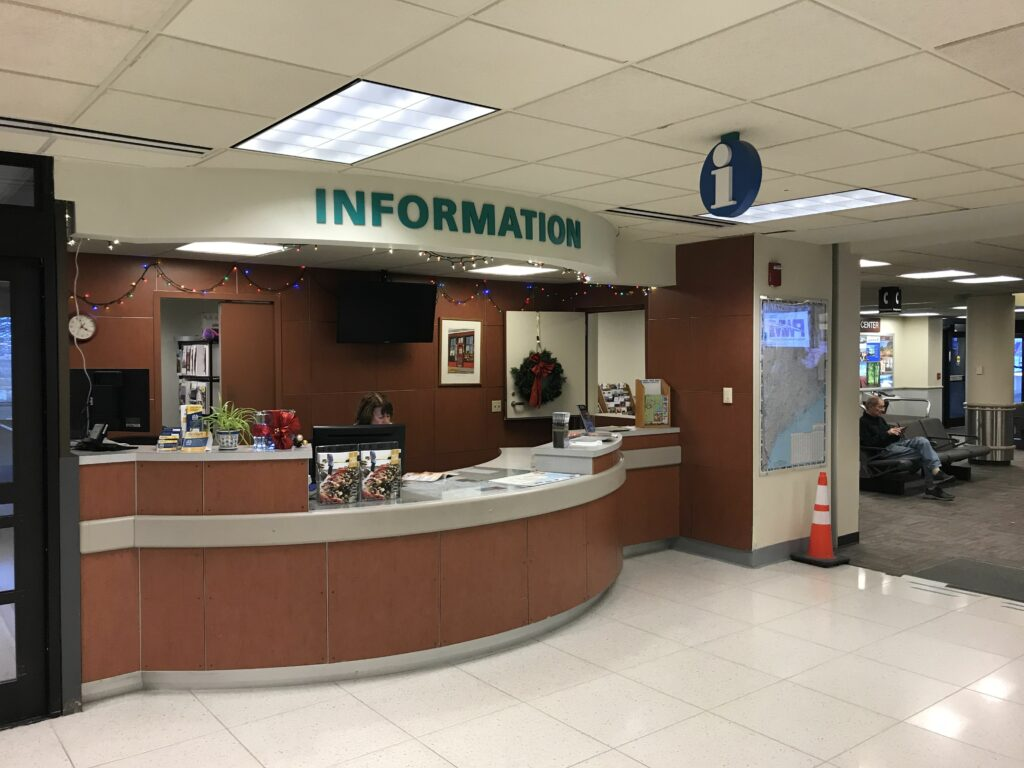 information desk portland airport