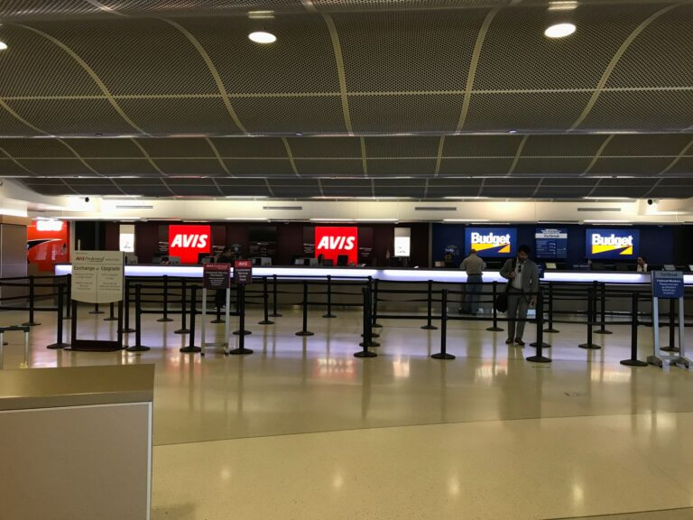 avis-and-budget-car-rental-counter-in-airport