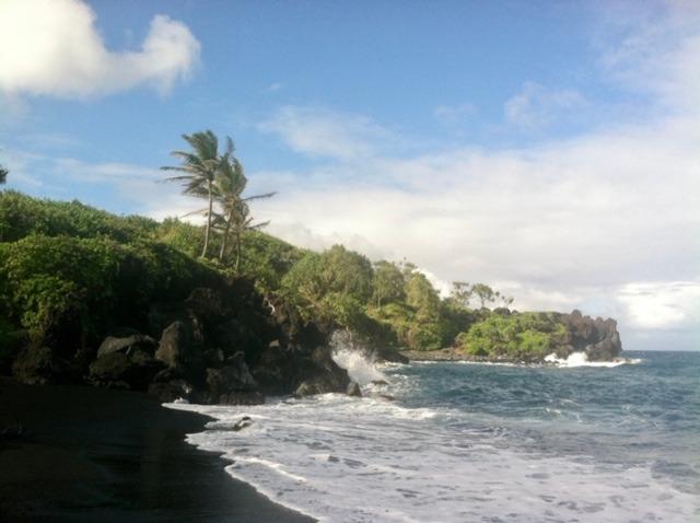 Kauai and Maui islands in Hawaii