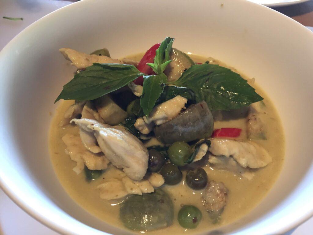 authentic Thai cuisine Railay Beach in Thailand