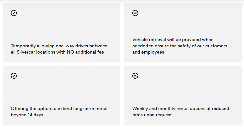 chart silver car COVID-19 update