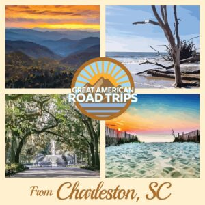 Cover Road Trips from South Carolina