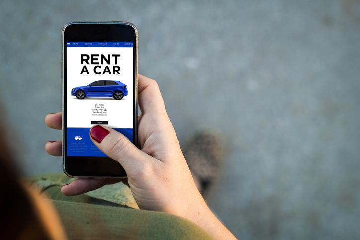 Car Rental Phone as Key